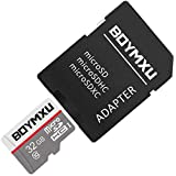 Micro Sd Card,BOYMXU Sd Memory Card 32gb Sd Card with Adapter High Speed Tf Card Update-GRAY.