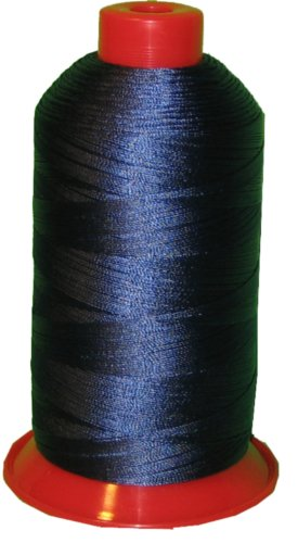 (Bonded Nylon Sewing Thread Size #138 T135 1250yds for Outdoor Upholstery (Pacific blue))