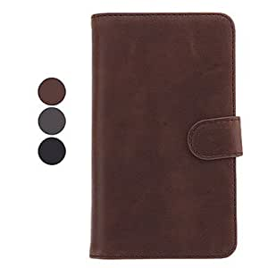 Bkjhkjy Leather Samsung Mobile Phone Cases for Galaxy Note 2/7100(3 Colors) , Brown