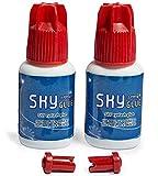 Best Sky Glue Eyelashes - 50 PINK + Super Strong Eyelash Extension Glue Review