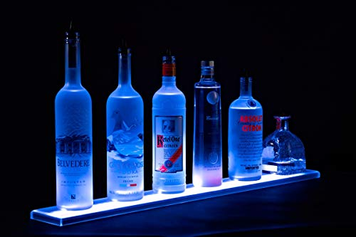 - Armana Productions 2' LED Liquor Bottle Shelf (24