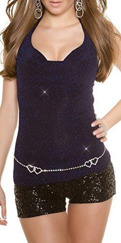 Koucla - Camiseta sin mangas - para mujer Azul