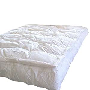 Amazon MARRIKAS Pillow Top Goose Down Feather Bed