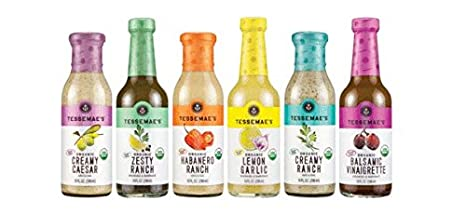 Tessemae's All Natural Whole30 Dressings 6-Pack