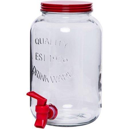 1 1 2 gallon plastic jar - 8