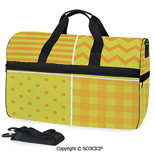 Sports Gym Duffel Bag Collection of Different Patterns in Handbag for men Collection Deluxe Wheeled Duffel