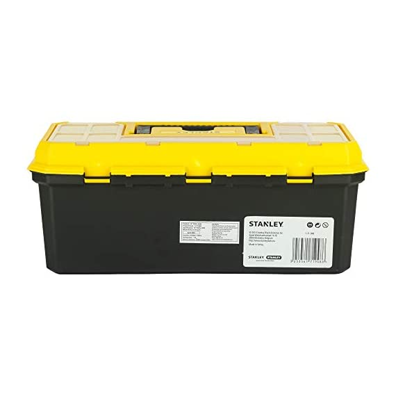 STANLEY 1-71-948 13'' Organised Maestro Tool Box with Clear top lid 5
