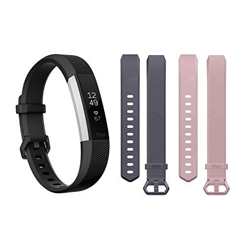 Fitbit Alta HR with 2 Extra Bands Bundle (Small)