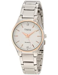 CARAVELLE BY BULOVA DIAMOND LADIES WATCH - 45P107