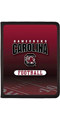 - South Carolina - Football Field design on Black 2nd-4th Generation iPad Swivel Stand Case
