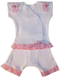 Preemie Clothing Sets-Jacqui's Baby Girls' Sweet Pink Gingham Capri Clothing Set