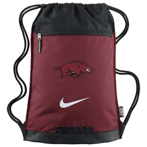 Nike Arkansas Razorbacks Team Training Gymsack by NIKE