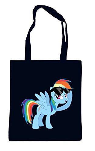 Rainbow Pony Bolsa Negro