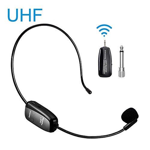 Wireless Microphone Headset UHF