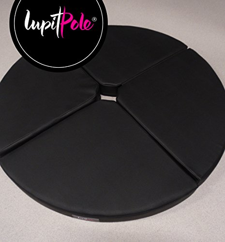 LUPIT MAT ''STANDARD'' BLACK 12cm (4.72in) FOR POLE DANCING POLE by LUPIT POLE