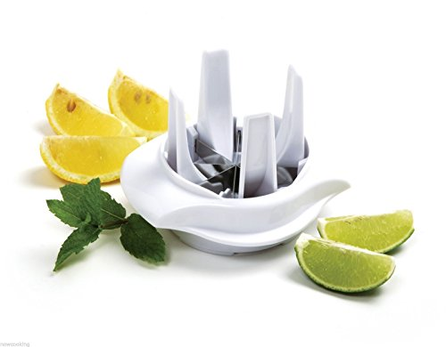 Norpro Lemon Lime Slicer Wedger Cutter Food Drink - Norpro Lemon Lime Slicer