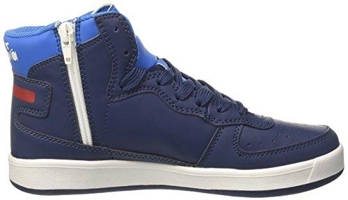 Diadora Mi Basket II y, Zapatillas Altas Para Niños Azul (Estate Blue/directoire Blue)