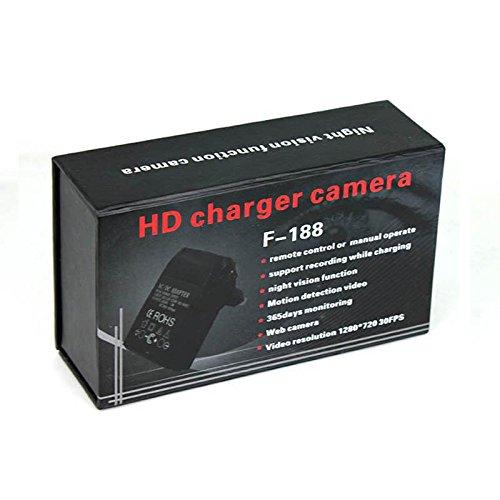 Yatek Cargador espía 1080p Pared con visión Nocturna y detección de Movimiento: Amazon.es: Bricolaje y herramientas