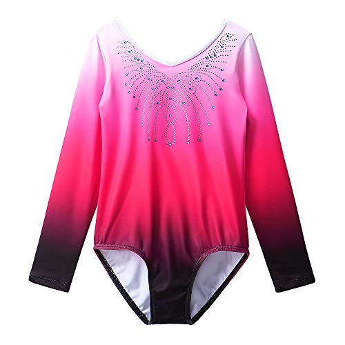 Gymnastics Leotard Girls Shiny Diamond Ballet Dance One Piece - Dance Kids Leotard For