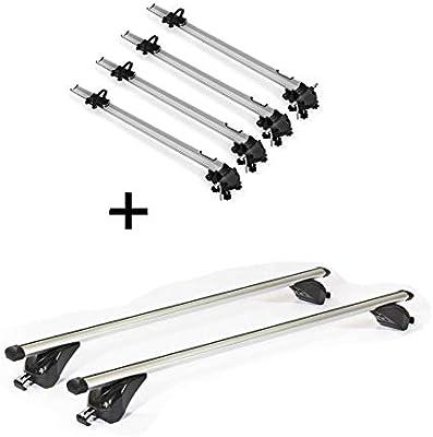 4 portabicicletas Bike Pro + Baca VDPKING1 Compatible con Mini ...