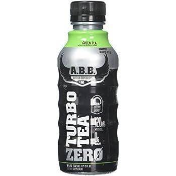 ABB Turbo Zero, Green Tea, 12 Count