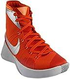NIKE Men's Hyperdunk 2015 Basketball Shoe (10.5 D(M) US, Orange Blaze/Metallic Silver-bright Citrus)