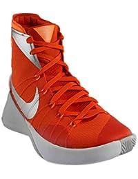 Nike Mens Hyperdunk 2015 TB Basketball Shoes White/Black/Met Silver 749645-100 Size 10