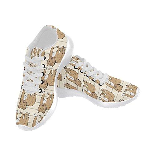 InterestPrint Womens Jogging Running Sneaker Lightweight Go Easy Walking Comfort Sports Athletic Shoes Pit