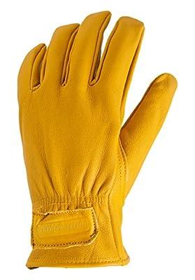 True Grip 9553 Goatskin Leather Palm Work Gloves, Large