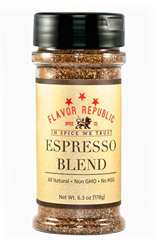 Flavor Republic Espresso Blend Java Infused, Low Sodium, All Natural