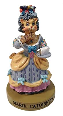 "Ertl Collectibles Cat Hall of Fame Marie Catoinette Figurine - 4"" Tall"