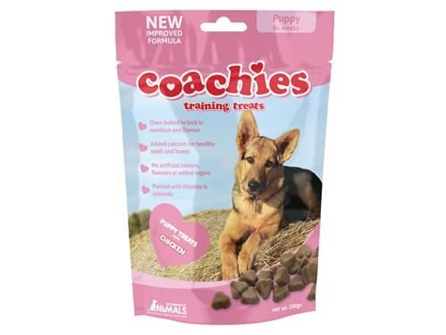 (6 Pack) Co. Of Animals - Puppy Coachies 200g