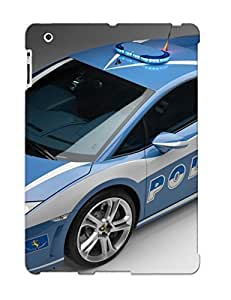Hot Snap-on Police Car Hard Cover Case/ Protective Case For Ipad 2/3/4