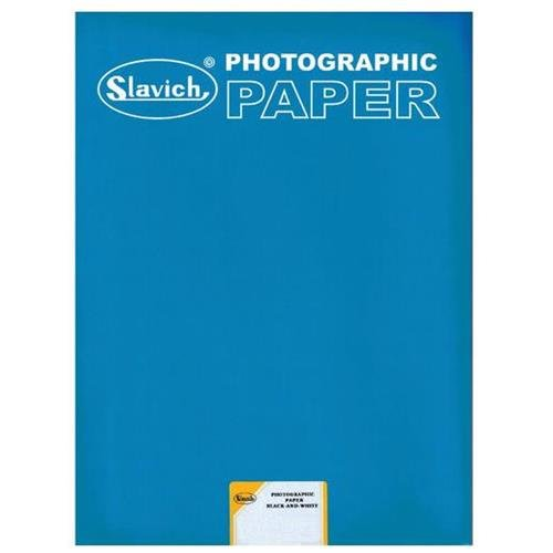 25 sheets Unibrom 160 PE 8x10 Medium Weight Smooth Glossy Enlarging Photo Paper Grade 3