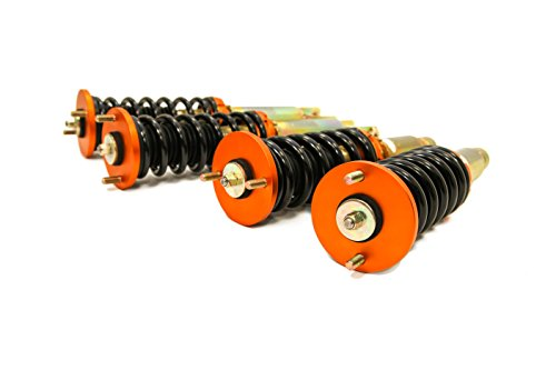 (Yonaka Acura Integra DA 90-93 Spec 1 Full Coilovers Suspension Shocks Springs Struts JDM)