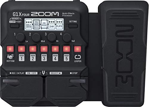 Zoom G1X Four Guitar Multi Effects Pedals 1