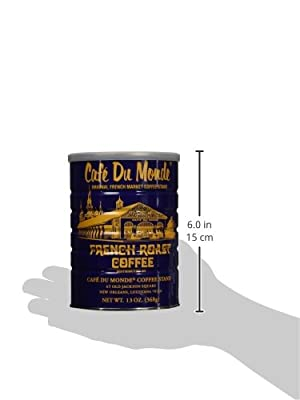 Cafe Du Monde French Roast Dark Coffee, 13 Ounce from Cafe Du Monde