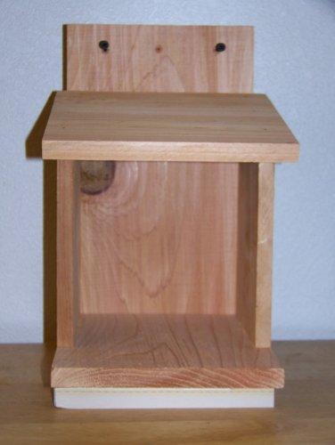 1 Robins, Doves, Cardinals Nesting Shelve Platform Handmade By Cedarnest Free S/h ()