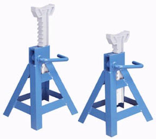 OTC 1774B 10-Ton Capacity Ratcheting Jack Stand - Pair (Stands Capacity Jack Ratcheting Ton)