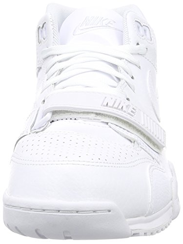 Nike Air Trainer 1 Herren Hohe Sneakers Weiß (White/White-Pure Platinum)
