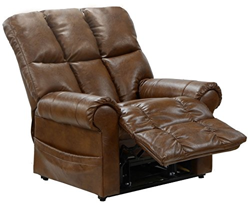 Catnapper Stallworth 4898 Power Lift Chair & Recliner - Chestnut