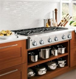 36 stainless steel gas range - 8