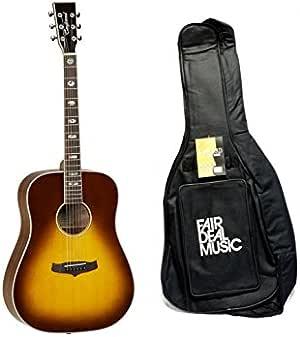 Tanglewood TW 28 svab libre de Dreadnought Guitarra Acústica con funda: Amazon.es: Instrumentos musicales