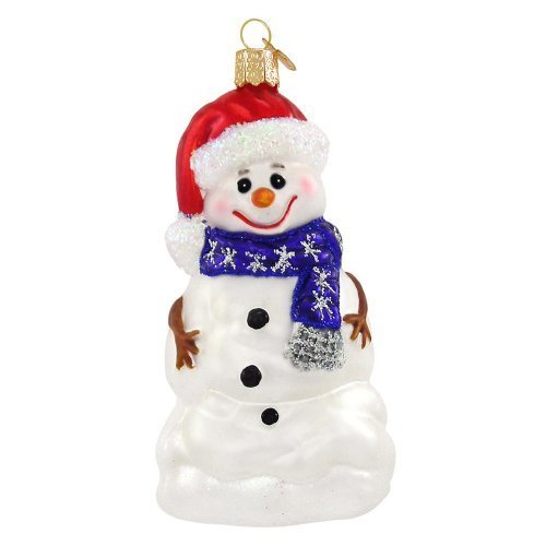 Old World Christmas Happy Snowman Ornament by Old World Christmas