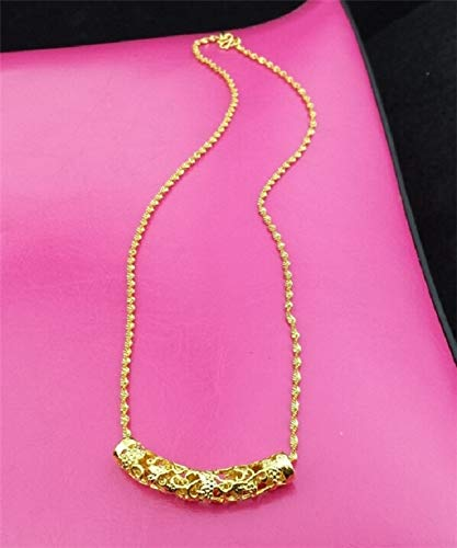 European Currency Gold Jewelry Duck Necklace Pendant Brave Vietnam alluvial Long not Fade (Money -