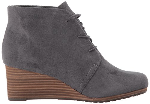 Dr. Scholls Womens Dakota Boot Dark Grey Microfiber MRGJmQ