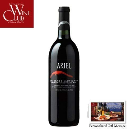 (Ariel Cabernet Sauvignon Non-Alcoholic Red Wine by MY SANCTUARY)