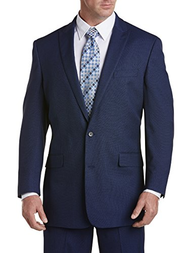Geoffrey Beene Big and Tall Birdseye Suit Jacket (Birdseye Suit Jacket)