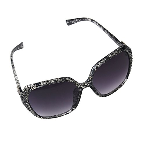 Ubetter Womens New Fashion Classic Simple Oversized Frame Sunglasses UV400 Protection Eye Glasses
