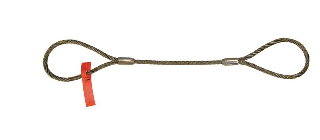 Liftall 1EEX11 Wire Rope Sling 6 x 19 Domestic Eye and Eye 1 x 11